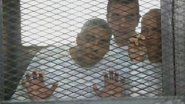 """Журналисты """"Аль-Джазиры"""" за решеткой"""