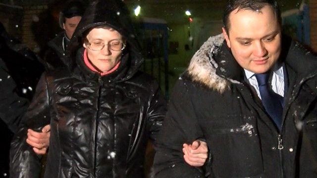 Светлана Давыдова со своим адвокатом