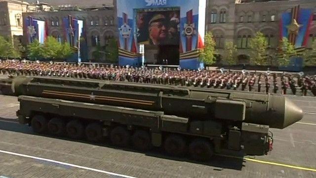 Nga biểu dương sức mạnh quân sự của mình