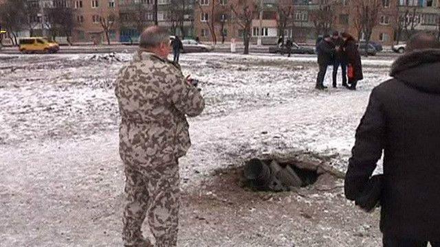 Обстрел в Краматорске
