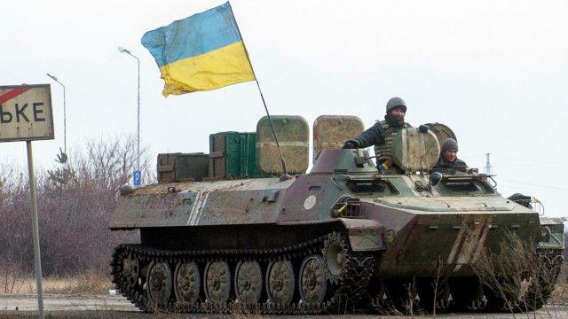 Tanque militar en Ucrania