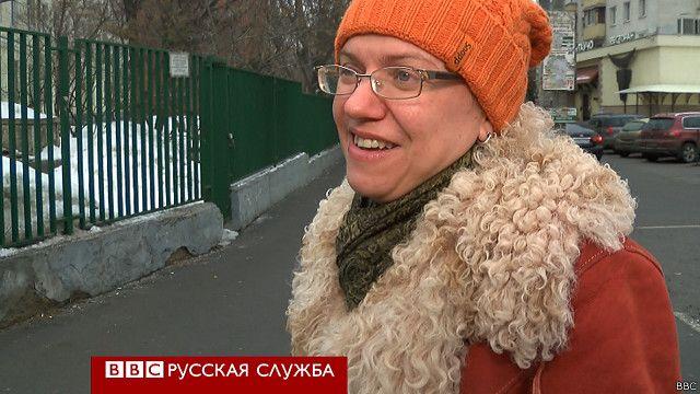 Жительница Москвы
