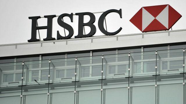Cartel de HSBC en Ginebra