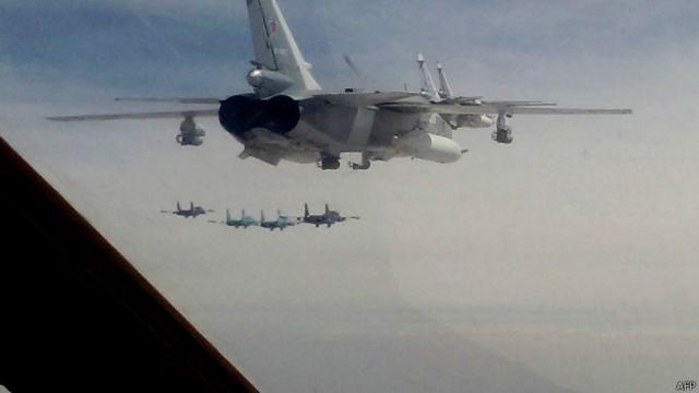 Novo incidente com bombardeiros russos reflete temor europeu com avanço de Moscou