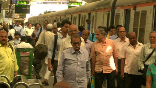 Вокзал в Мумбаи