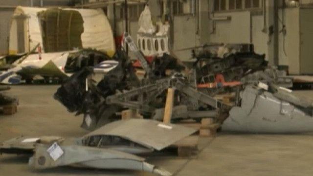Обломки самолета Malaysia Airlines