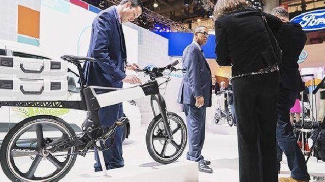 فورد تطرح دراجة ذكية لأول مرة