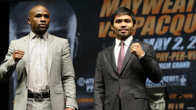 Boxeadores Mayweather y Pacquiao confirman pelea en Las Vegas