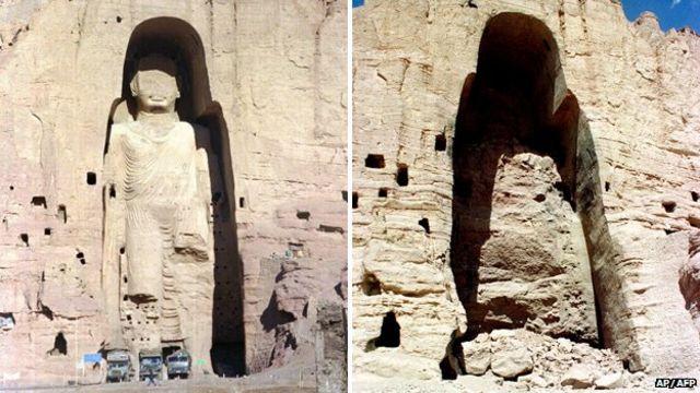 O homem que explodiu estátuas históricas para o Talebã