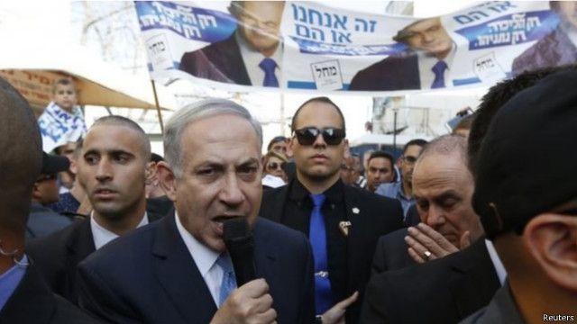 """فوز نتنياهو """"يضعف"""" مستقبل عملية السلام مع الفلسطينيين"""