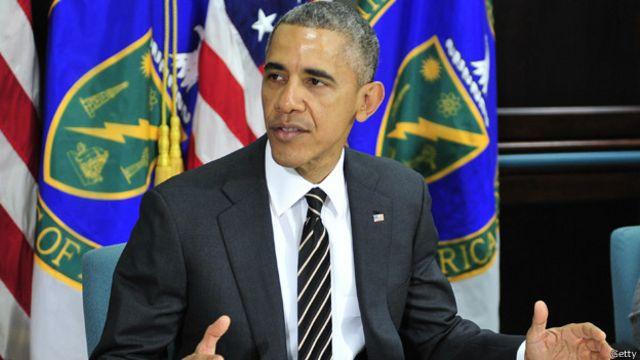 """أوباما يحث قادة وشعب إيران على """"انتهاز الفرصة التاريخية"""" التي توفرها المفاوضات النووية"""