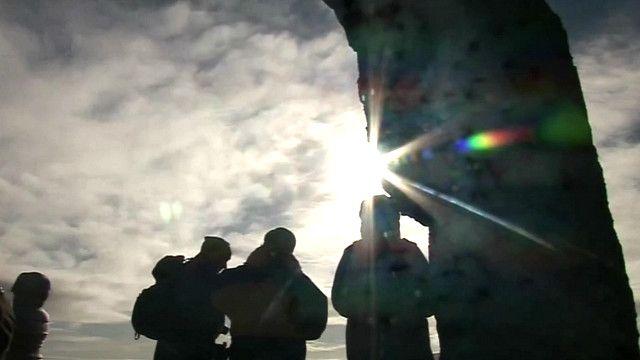 Затмение на Оркнейских островах