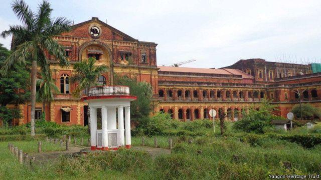 သမိုင်းဝင် အတွင်းဝန်များ ရုံးဟောင်း