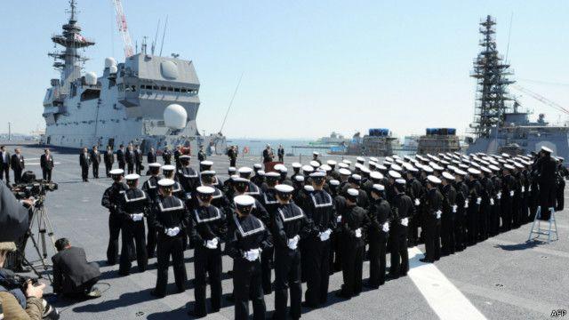 日本戰後最大軍艦「出雲」號投入服役