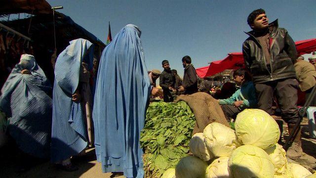 افغانستان میں ایک مارکیٹ