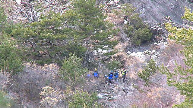 Спасатели в Альпах ищут тела погибших