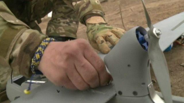 """Бойцы батальона """"Днепр"""" сначала потеряли, а потом нашли свой дрон"""