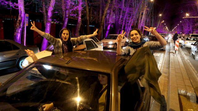 У Тегерані свято