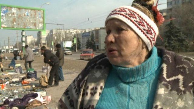 мешканка Луганська
