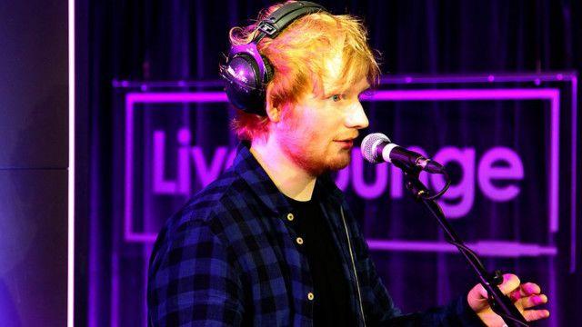 Ed Sheeran的專輯大受歡迎
