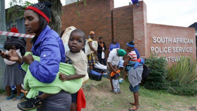 Meurtres d'étrangers en Afrique du Sud