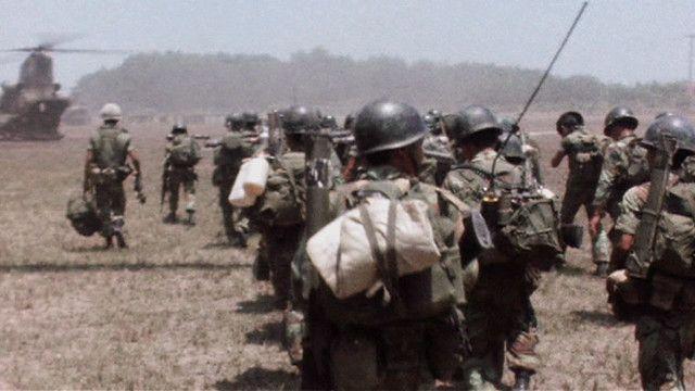 Quân đội miền Nam Việt Nam gần Xuân Lộc, ngày 11/04/1975