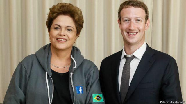 Dilma anuncia parceria com Facebook para ampliar acesso à internet