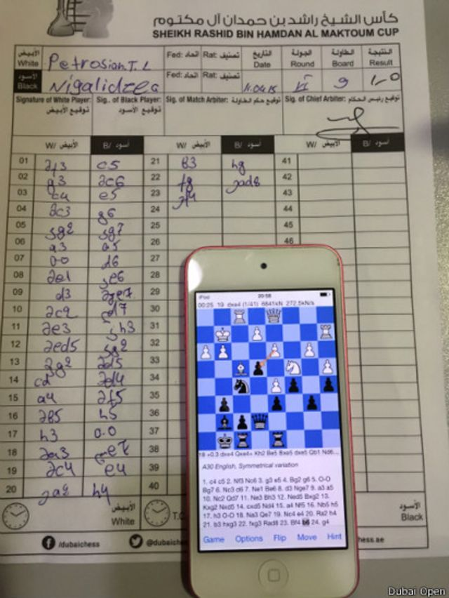 O mestre do xadrez que trapaceava no banheiro