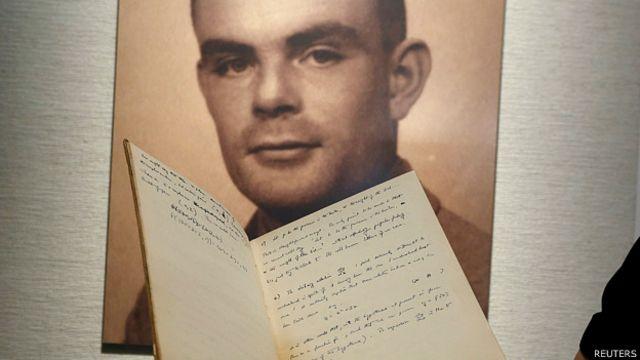 El manuscrito secreto de Alan Turing, el descifrador del Código Enigma