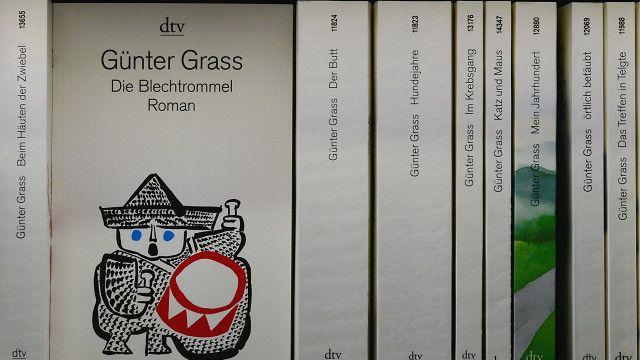 Книги Гюнтера Грасса на немецком языке