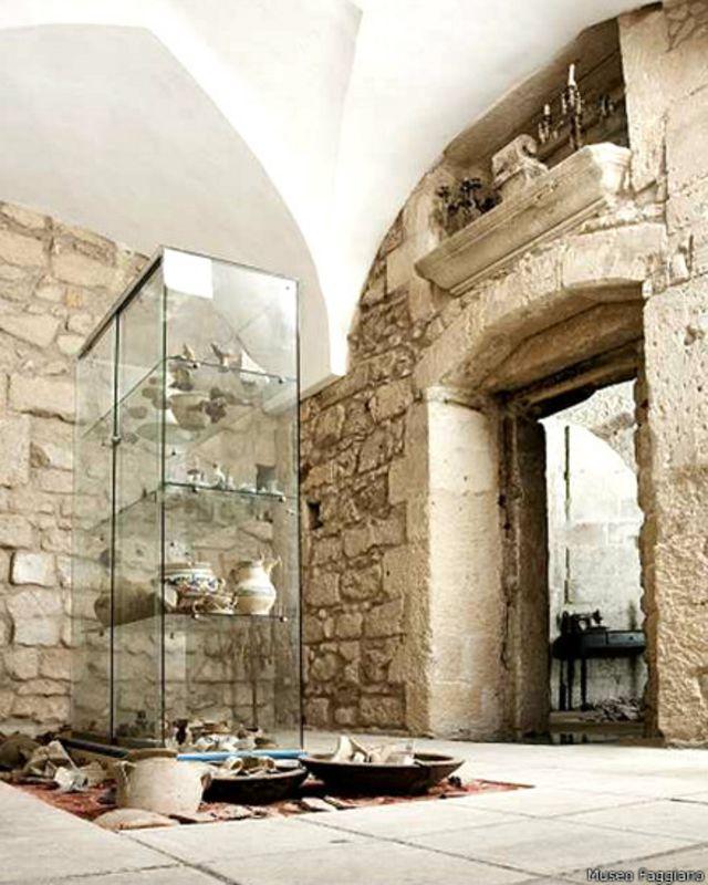 La familia italiana que encontró un tesoro arqueológico mientras arreglaba un baño