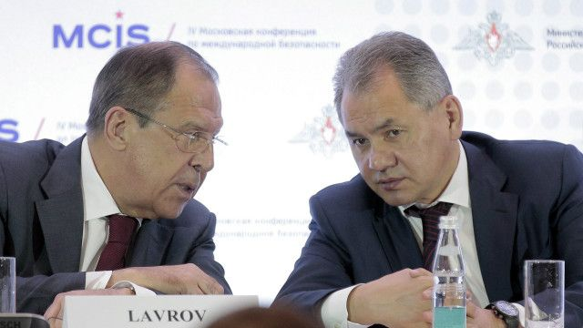 Lavrov and Shoigu