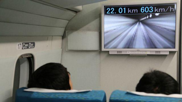 日本磁懸浮列車時速再次刷新世界紀錄