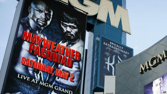 Mayweather vs. Pacquiao: el asiento más codiciado del deporte