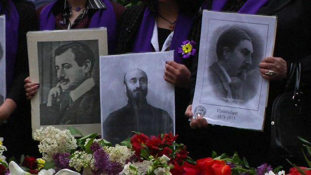 Портреты погибших армян