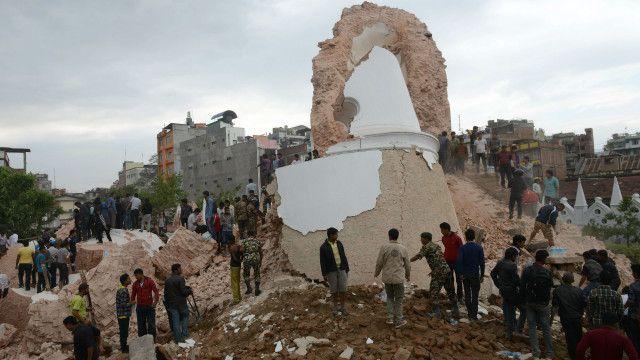 नेपाल में भूकंप