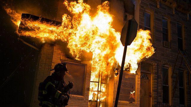 Поджоги в Балтиморе