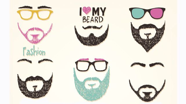 A selection of beards