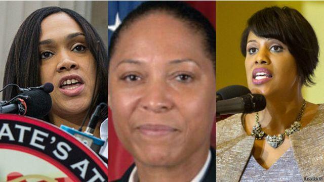 Las tres mujeres encargadas de poner orden en Baltimore