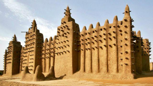 Sete maravilhas arquitetônicas desconhecidas