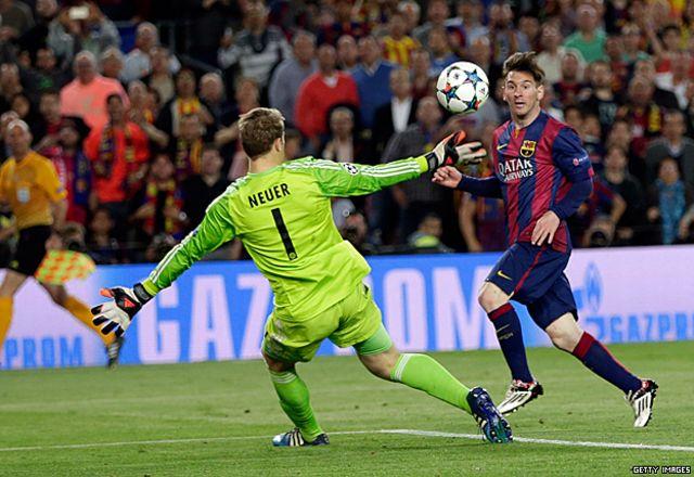 Cómo Messi hizo del Barcelona vs. Bayern Múnich un partido que marca época