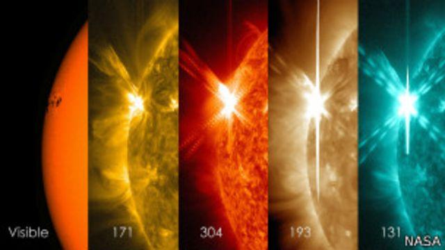 El brillante espectáculo de la mayor tormenta solar del año