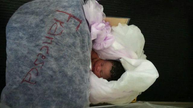 migrant baby
