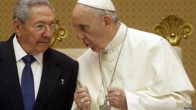 Análise: Visita de Raúl Castro ao Vaticano é nova vitória de Francisco