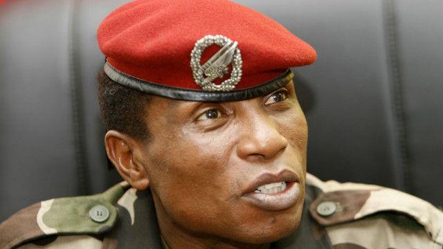Le capitaine Moussa Dadis Camara était le chef de l'État lorsque le massacre a eu lieu au Stade du 28 septembre