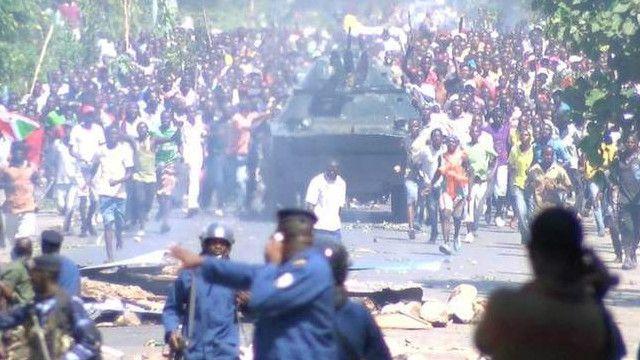 Matukio Burundi
