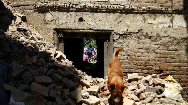 नेपाल, भूकंप