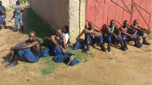 Wanajeshi waasi waliokamatwa katika mji wa Burundi
