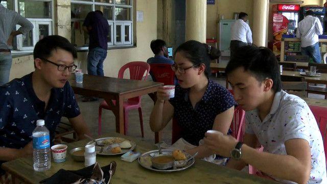 भारत, चीन, छात्र
