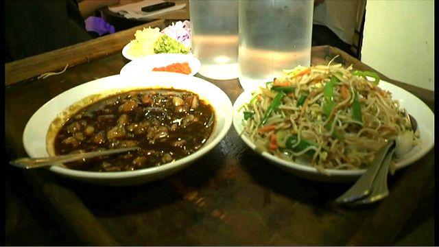 भारत, चायनीज़ खाना